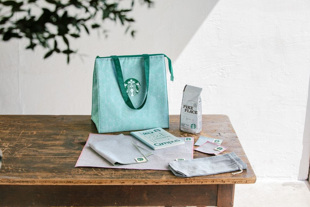 スターバックス日本上陸25周年を記念した【Starbucks 25th Greener Coffee Set(スターバックス 25th グリーナー コーヒーセット)】抽選販売