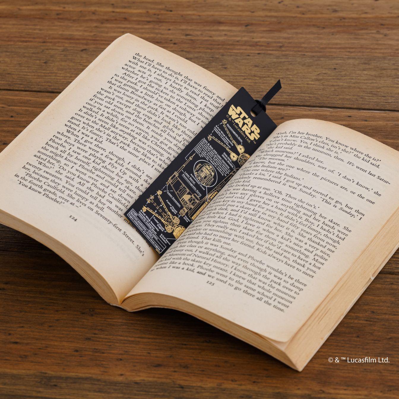 読書の秋、スターウォーズの【基盤アート栞】でいろどりを