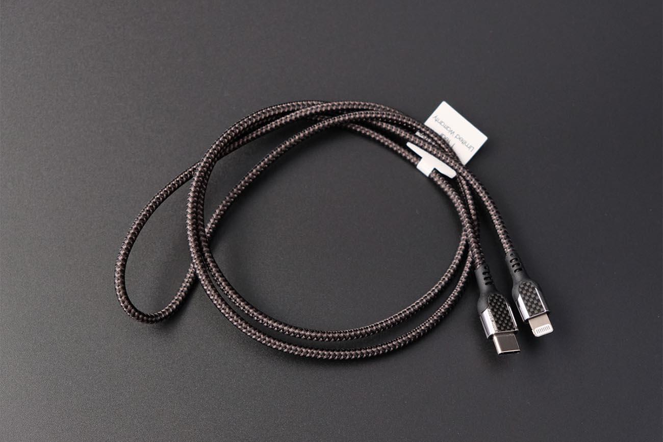 monCarbone Lightning Cable 急速充電 高耐久 ライトニングケーブル