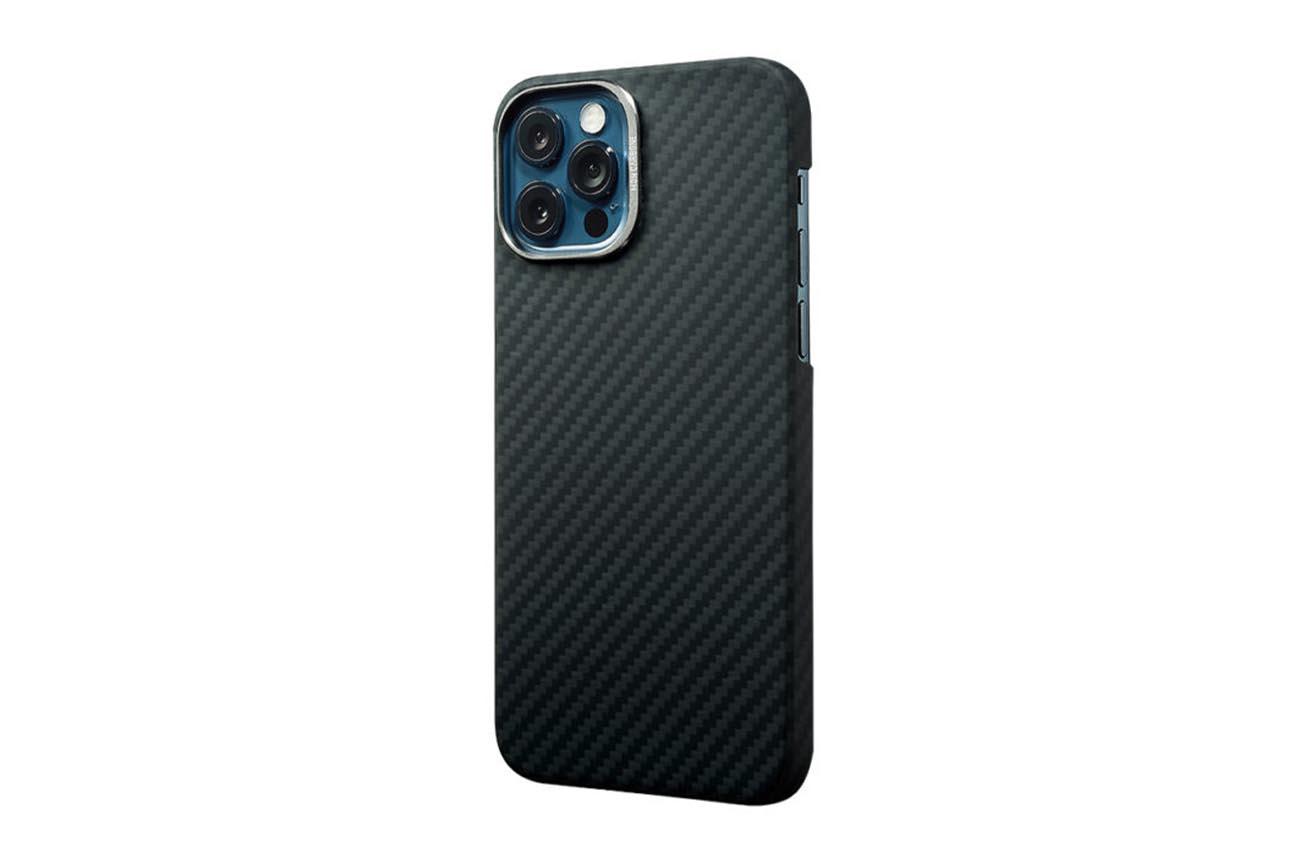 monCarbone カーボンファイバーケース(iPhone12)