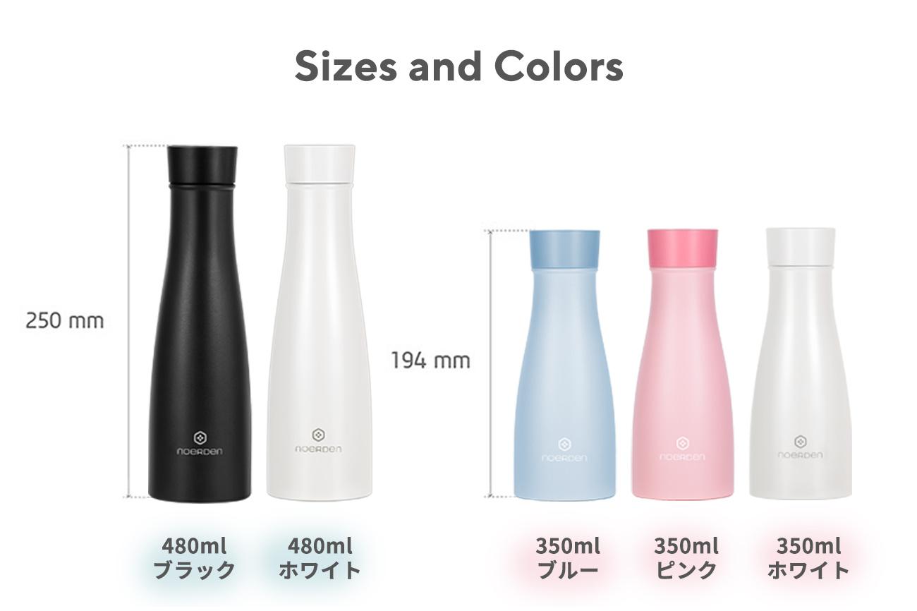 NOERDEN LIZ Smart Bottle UV-Cライトで除菌できるスマートボトル