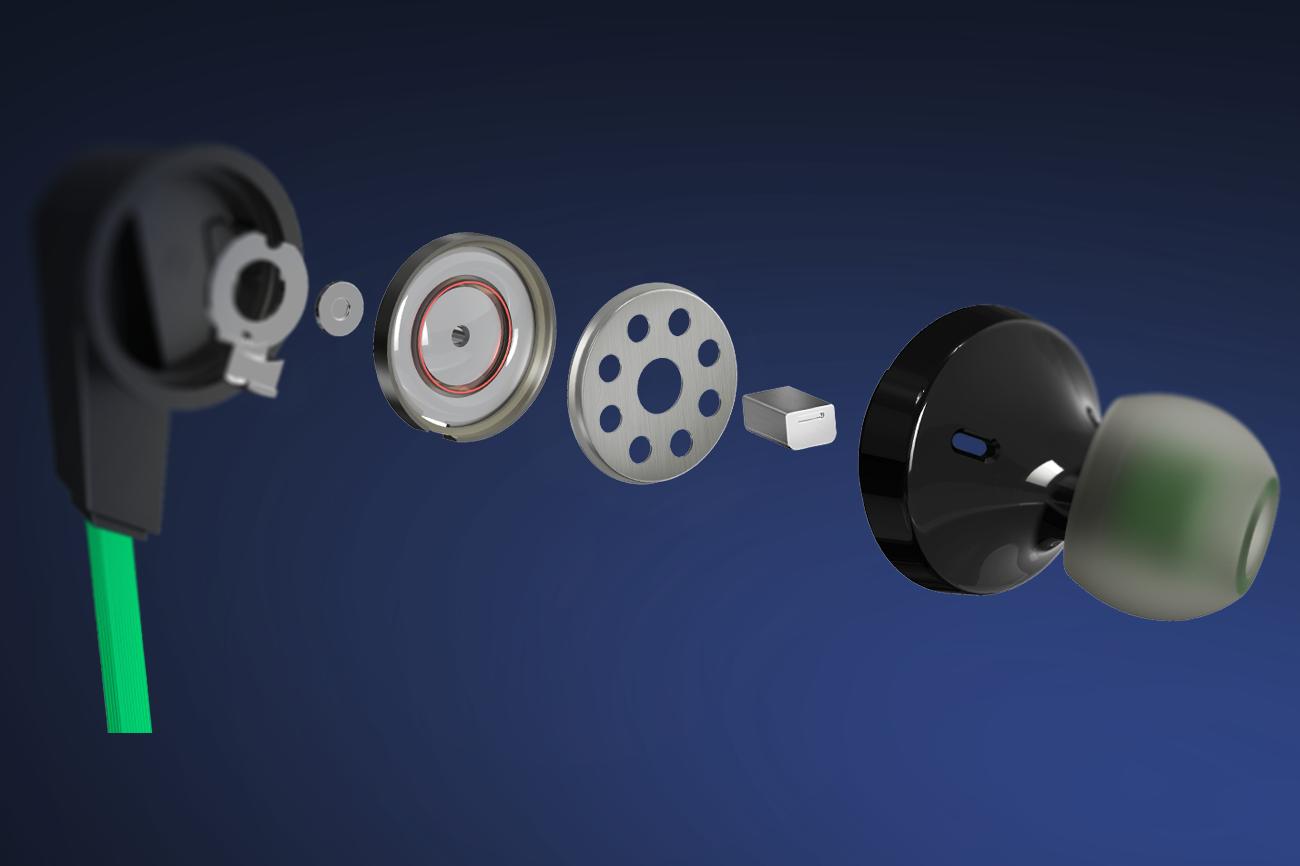 Black Shark 3.5mm Earphones 2Pro ゲーミングプレミアムイヤホン