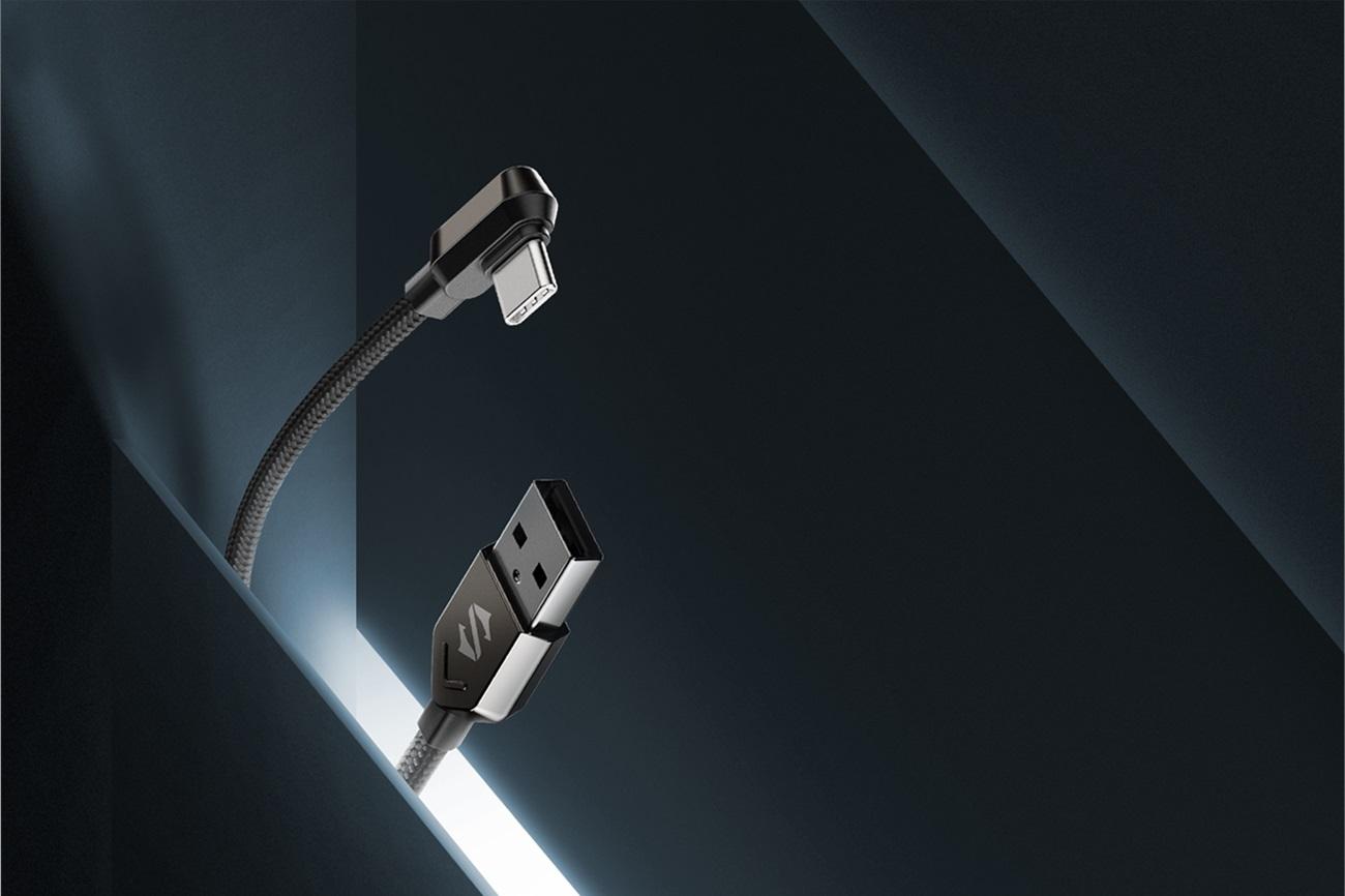 Black Shark Right-angle USB-C Cable 充電ケーブル