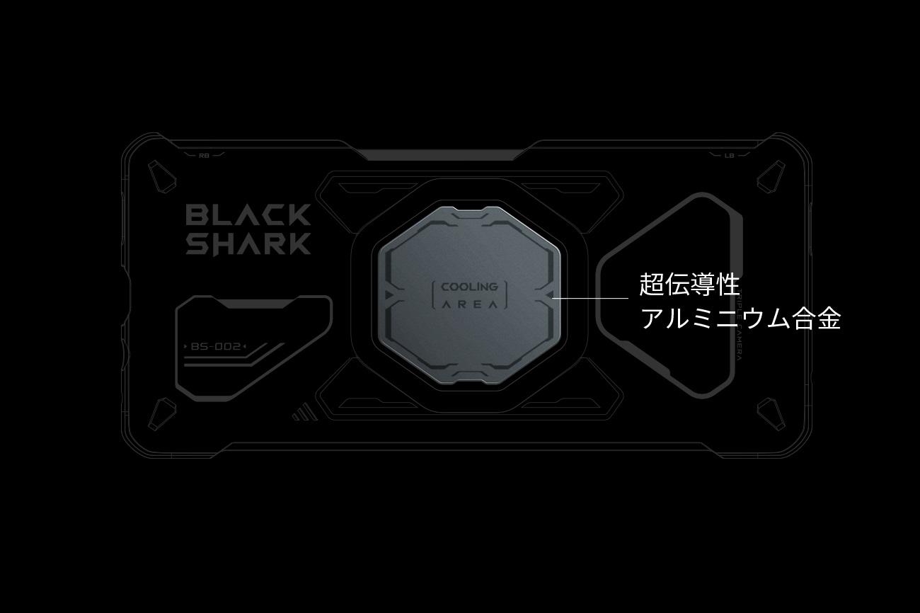 Black Shark 4 FunCase 究極の冷却を可能にするブラックシャーク4専用ケース