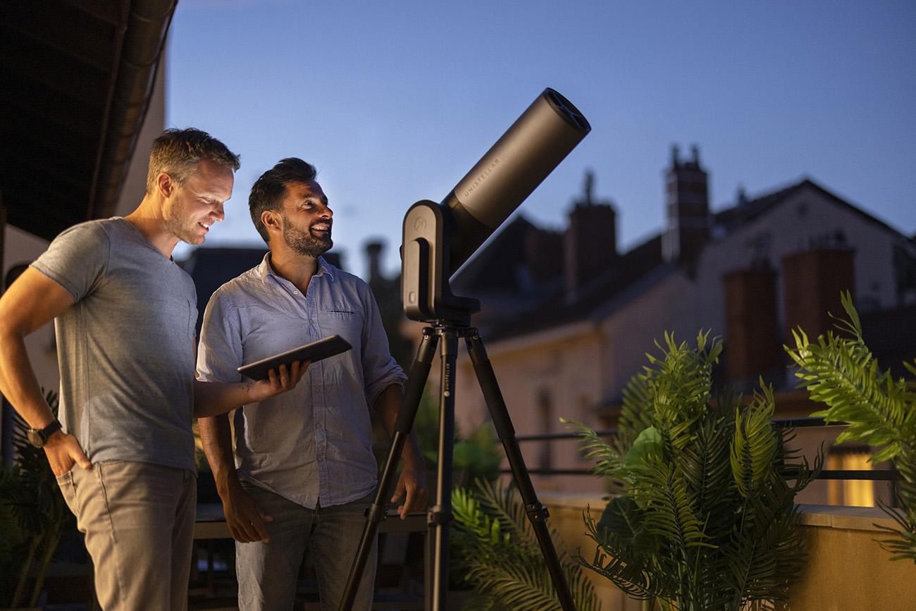 eVscope eQuinox 宇宙の美しさを身近に感じる為の天体望遠鏡