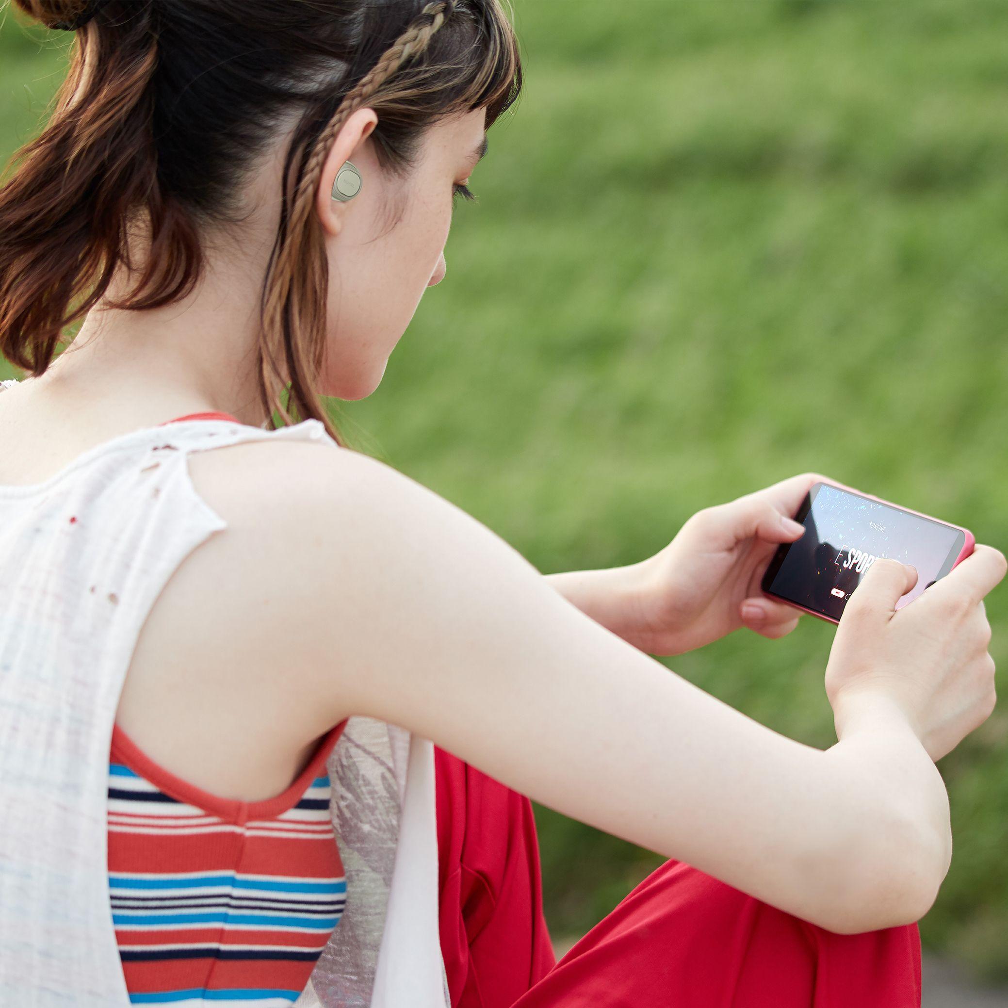 """低遅延ゲーミングモード搭載の""""没入サウンド""""  完全ワイヤレスイヤホン NUARL【N6 sports】"""