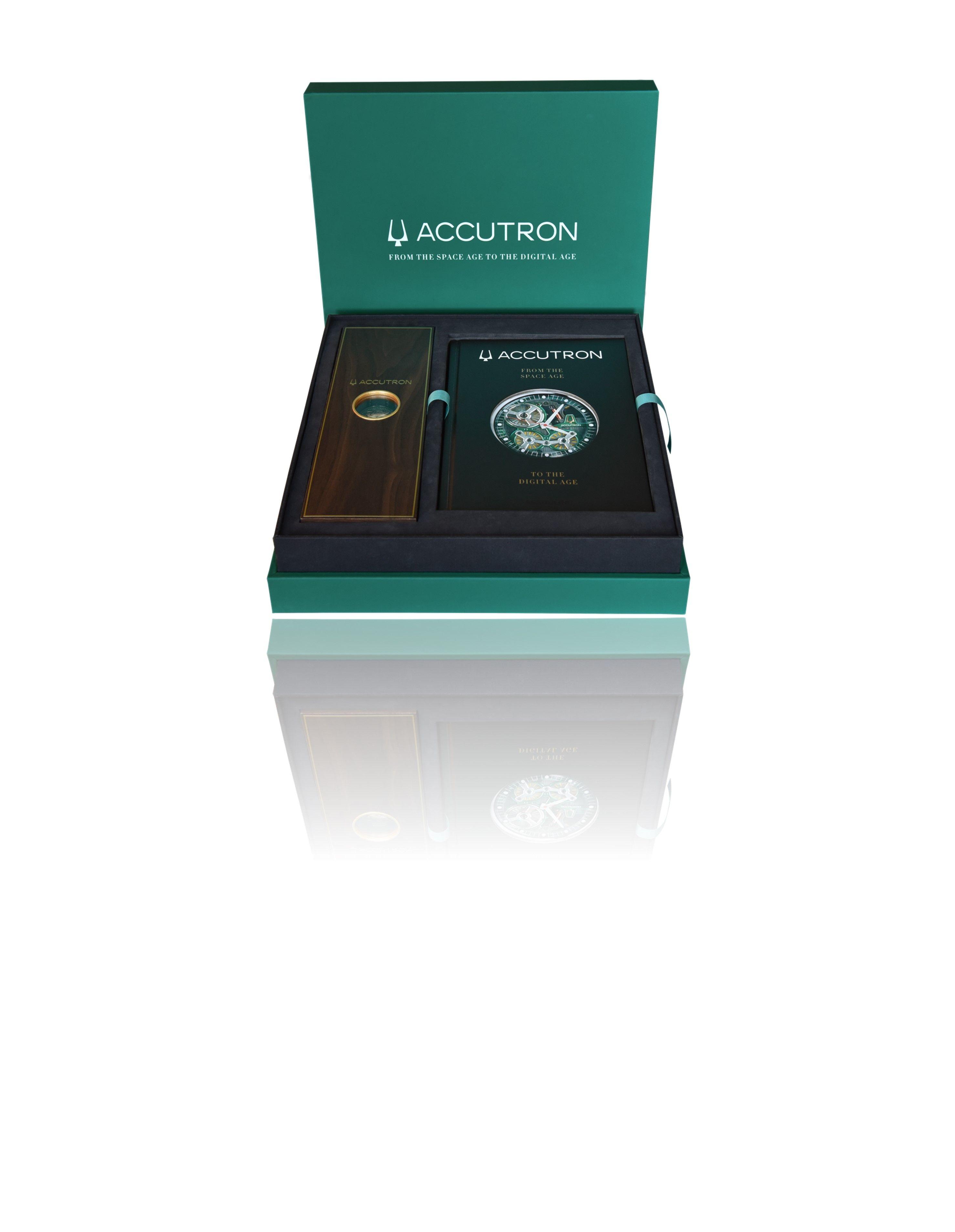 """アメリカの時計ブランド「アキュトロン」 生誕60周年を機に、世界初""""静電誘導""""機能を搭載した【アキュトロン スペースビュー 2020】発売"""