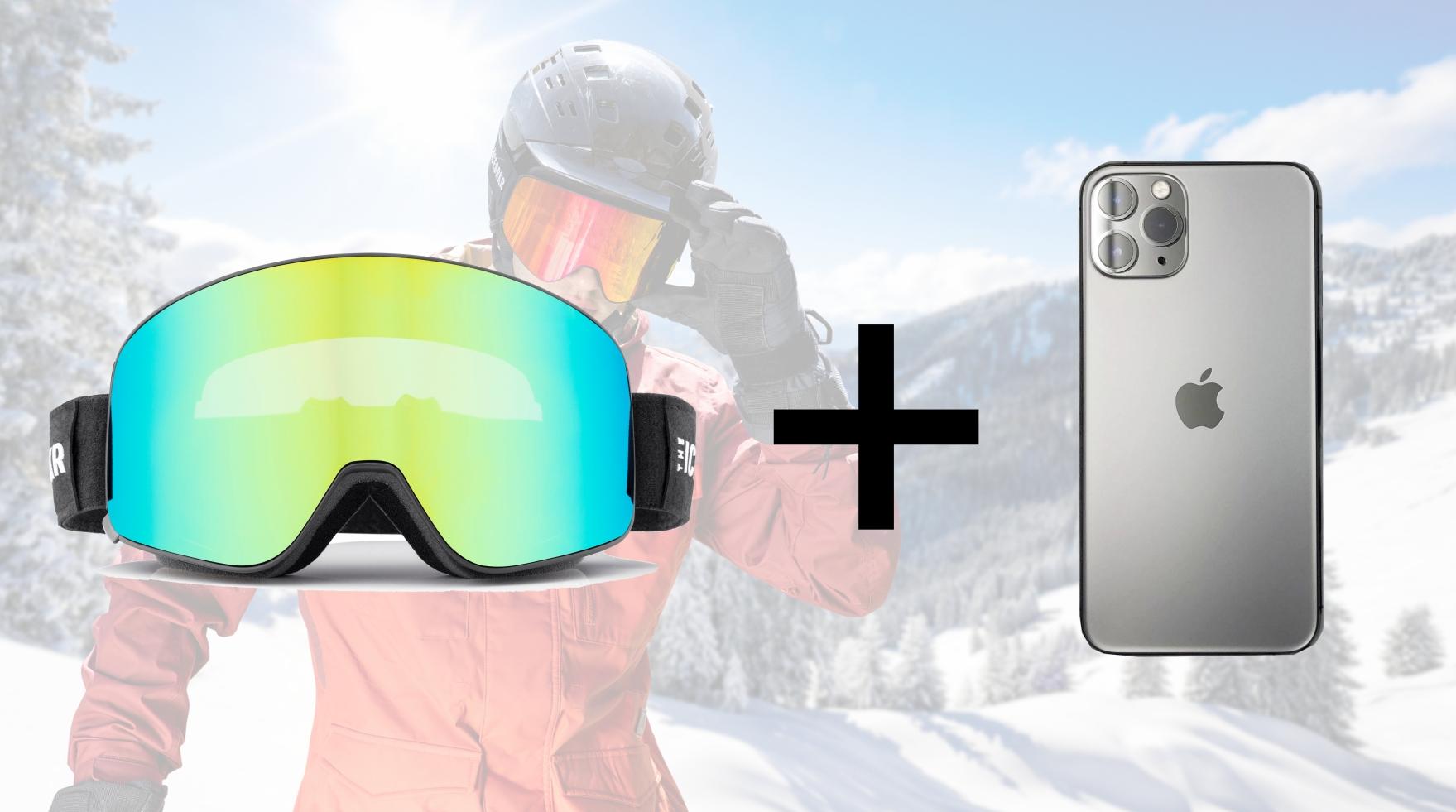 Bluetooth 5.0 MESHインカムテクノロジーと骨伝導オーディオを搭載したスノーゴーグル【IceBRKR(アイスブレーカー)】