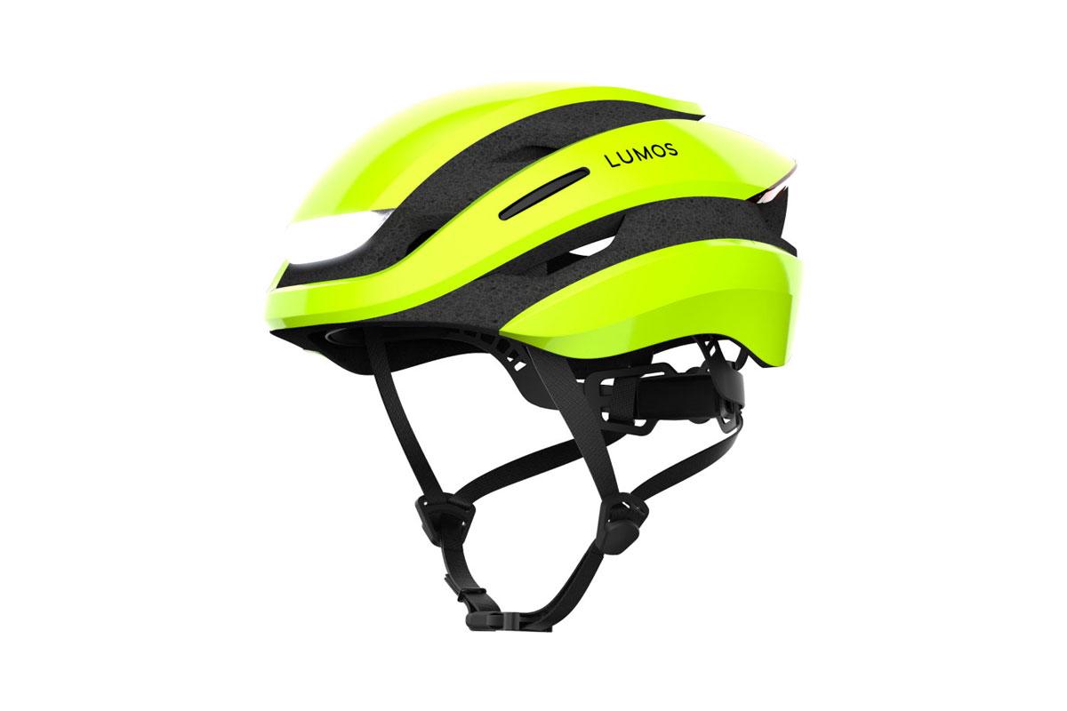 フロント・リアLEDライトなどを搭載した次世代自転車用ヘルメット【LUMOS Ultra】